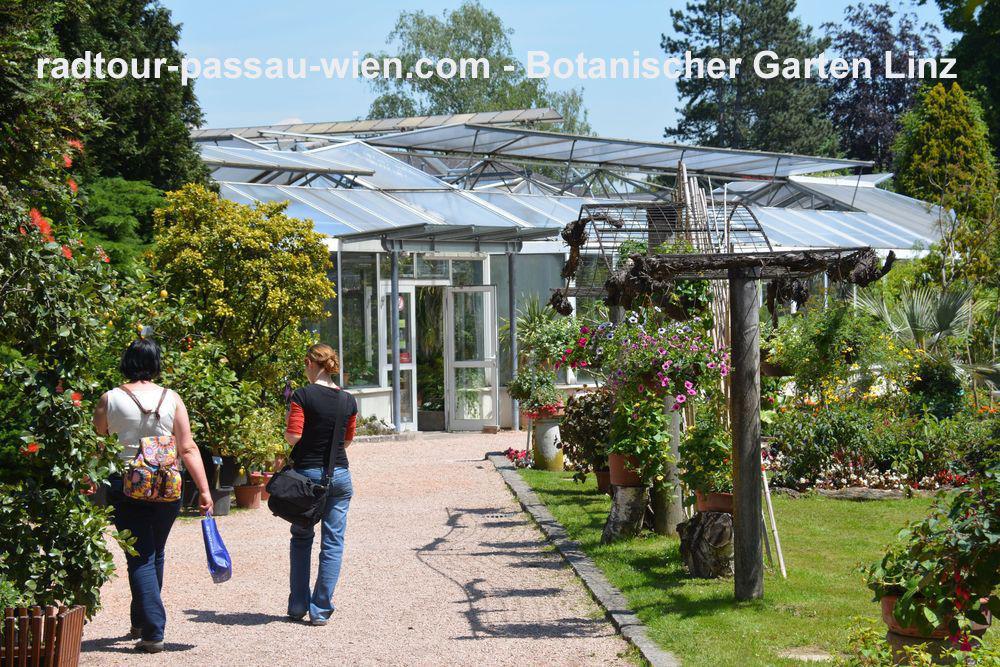 Велотур Пассау-Вена - Ботанический сад в Линце