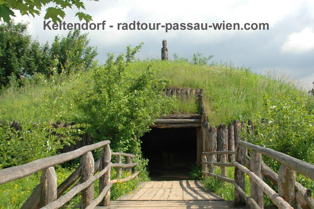 Велотур Пассау-Вена - Кельтская деревня Миттеркирхен