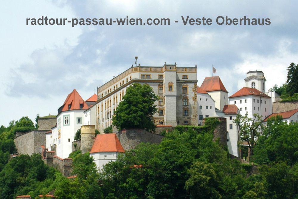 Велотур Пассау-Вена - Крепость Оберхаус
