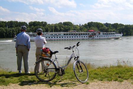 Велотур Пассау - Вена - Donau und Donauschifffahrt